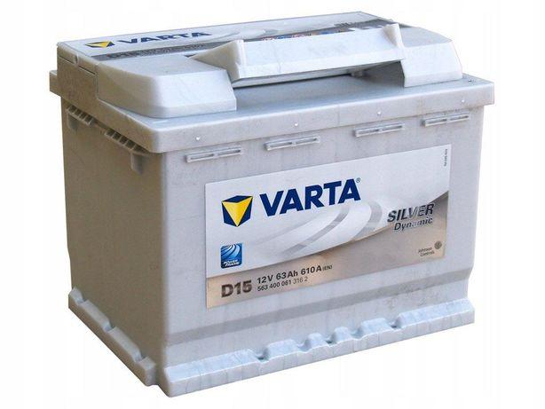 Akumulator Varta Silver Dynamic D15 63Ah/610A