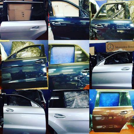 Двери крышка багажника бампер Мерседес GLC 253 GLE W166 W292 GLA CLS
