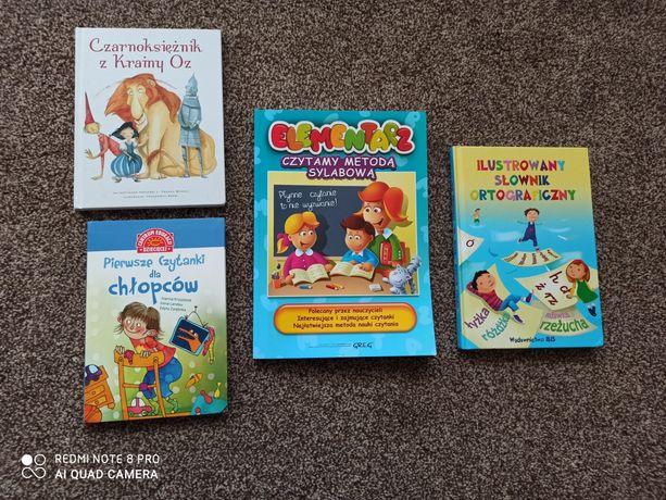 Książki (nowe) Czytamy medotą sylabową, Pierwsze Czytanki chłopców itd