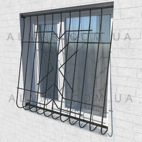 Металлические решетки на окна , балконы , дверные проемы