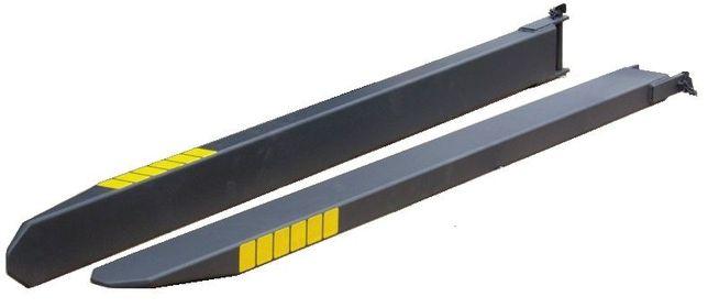 Przedłużki wideł 2000x180x80 przedłużenie wideł nasady wideł widły