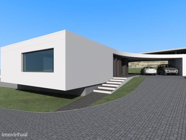Moradia em construção de Arquitectura Contemporânea, T4, ...