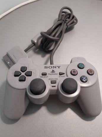 Comando original Dualshock da PlayStation/PS1 (Sony)