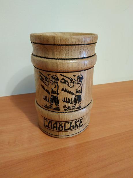 Дерев'яний кухоль для пива / деревянная кружка для пива