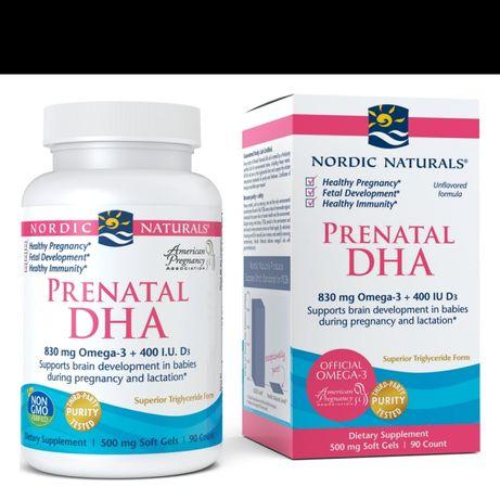 Nordic Naturals Prenatal DHA, 830 mg, 90 ct Softgels