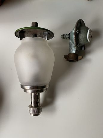 Lampa turystyczna do butli gazowej PAMIĄTKI PRL