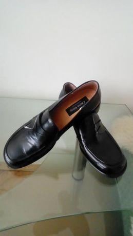 Стильні туфлі з натуральної шкіри, обмежена колекція, ручна робота