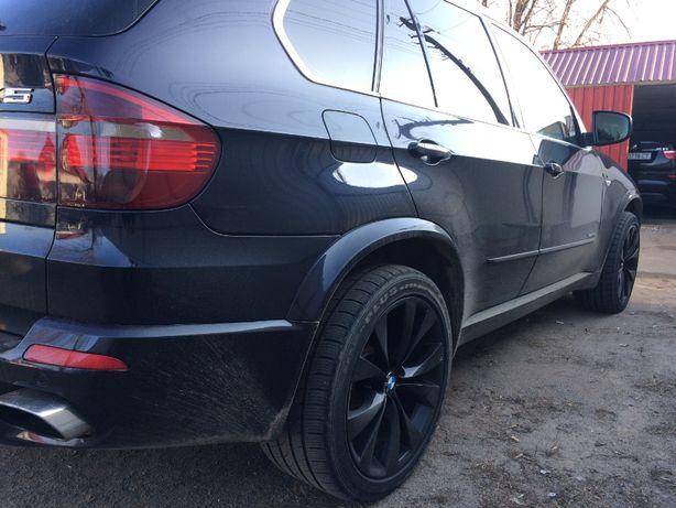 BMW X6 X5 e70 E71 M обвес рейлинги пороги расширители арок бампер руль