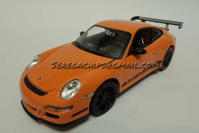 Коллекционная масштабная модель Porsche 911 997 GT3 RS 1:24 Welly