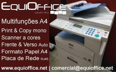 Barato: Scanner Pro e Impressora Multifunções Ricoh Aficio MP161 Porto