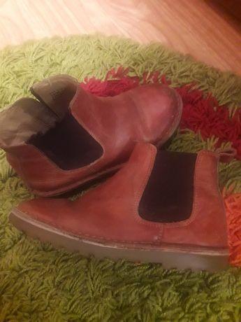 Сапожки сапоги ботинки на мальчика весна  NEXT кожа