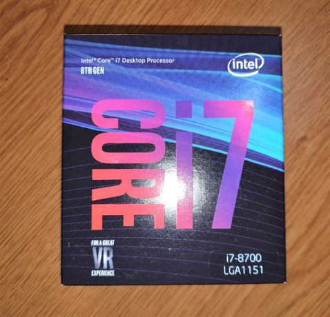 [NOVO] Intel i7-8700 (3.2 Ghz) - Processador (CPU) - (2)