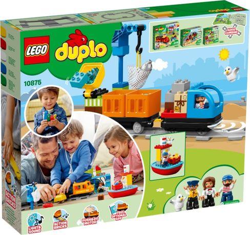 Конструктор LEGO DUPLO Town Грузовой поезд (10875) Новий ! В наявності