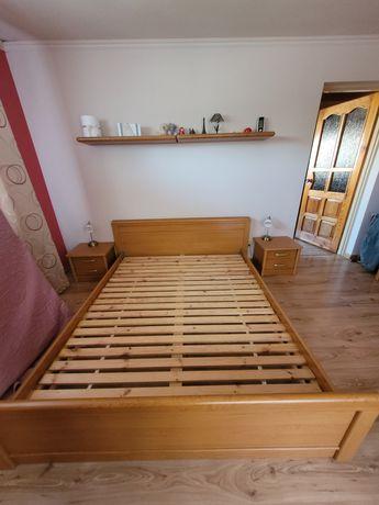 Sypialnia Sen brw - łóżko, szafa, szafki nocne, komoda, toaletka