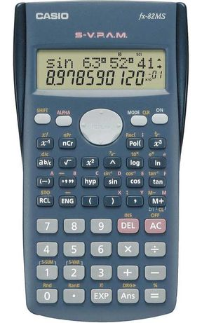 Casio Calculadora FX 82 MS
