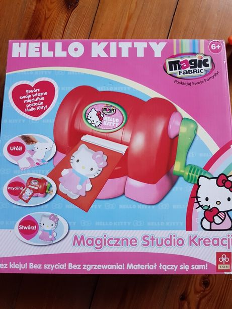 Magic fabric hello kitty