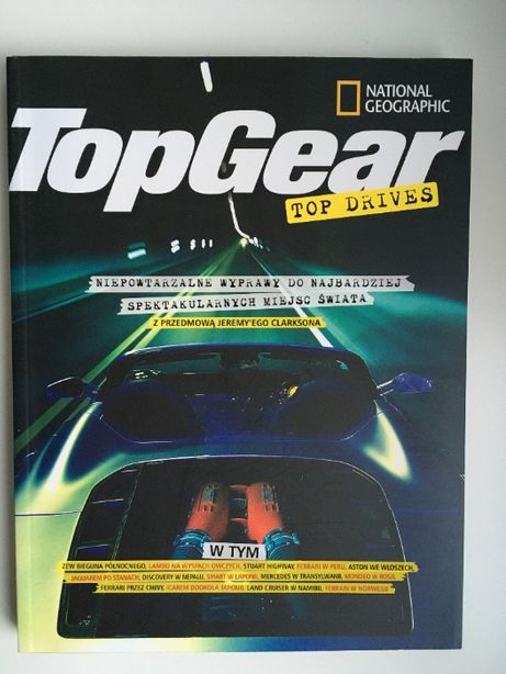"Książka ""Top Gear. Top Drives"""