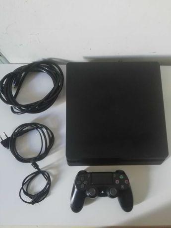 PS4 SLIM 1TB(Fifa21,GTA V e mais)