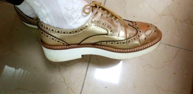 Лофери,туфлі Zara