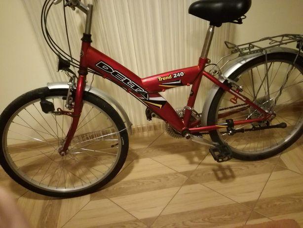 Rower Delta czerwony