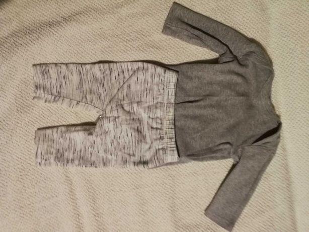 Body i spodnie niemowlęce 56
