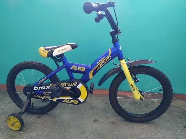 Детский велосипед azimut