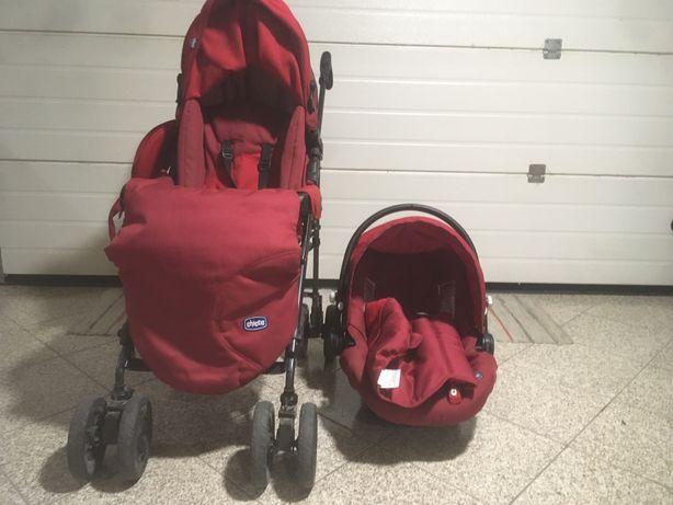 Carrinho bebe e cadeira auto