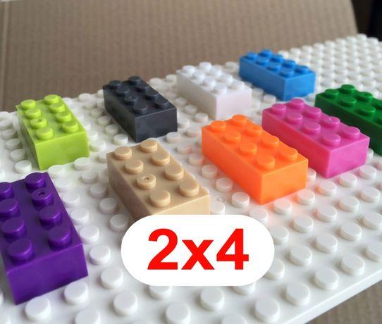 Кубики аналог Лего, Lego Classic 2х4 - 100 шт