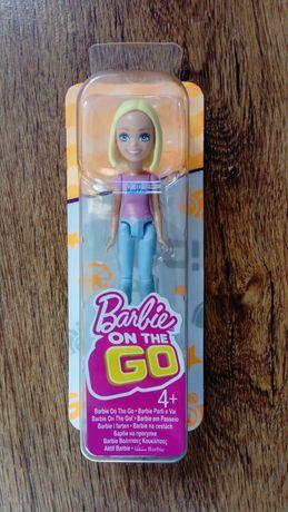 Lalka Barbie on the go mini NOWA
