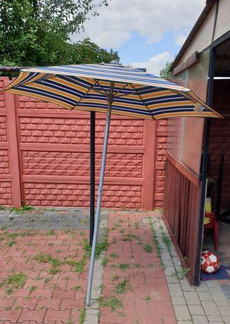 Parasol plażowy ogrodowy regulowany średnica 180cm rurka 32mm