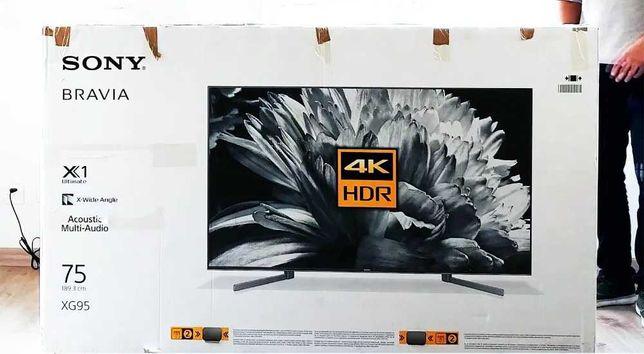 "TV SONY 75"" KD-75XG9505   Full Array LED   4K Ultra HD"
