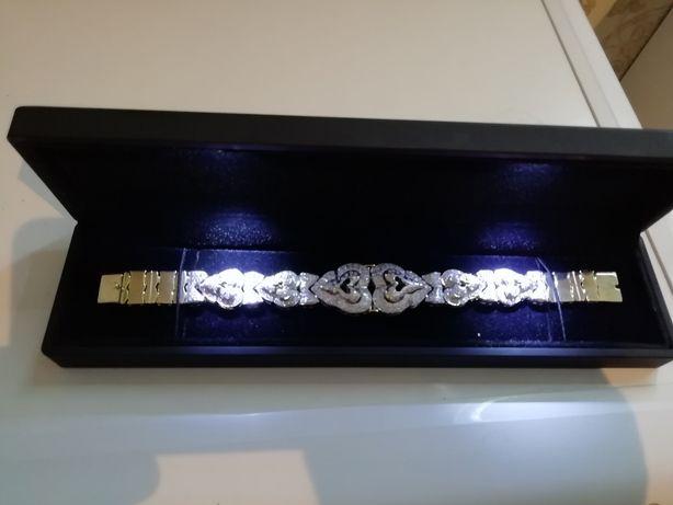 Бриллиантовый женский браслет.