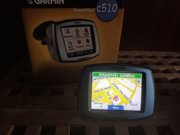 GPS Garmin c510 com acessórios