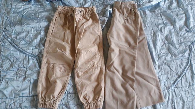 Котонові, легенькі модні штани на літо Недорого ріст 110