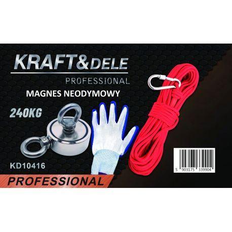 Uchwyt magnetyczny magnes neodymowy 240 kg KD10416