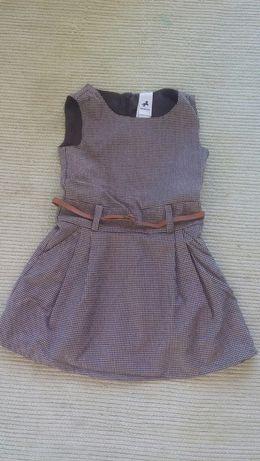 Vestido C&A T. 4 anos