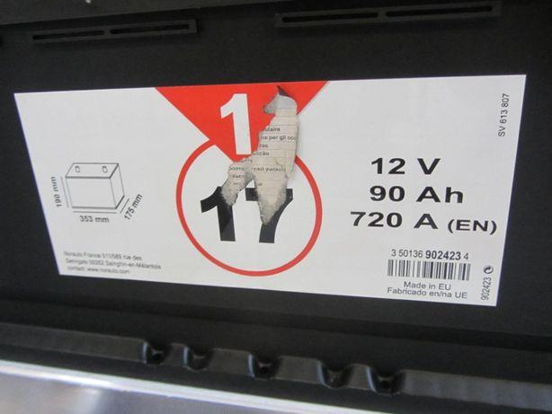Akumulator Norauto 1 90Ah 720A P+ 12V