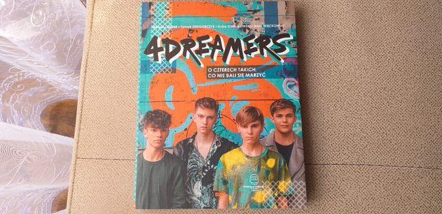 4 DREAMERS -książka
