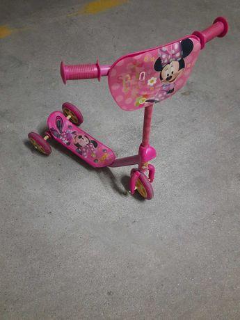 Trotinete 3 rodas Minnie