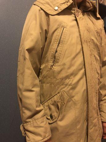Осенняя курточка парка на мальчика 10-12 лет