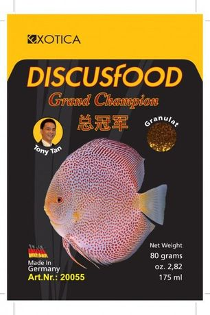 Discusfood Grand Champion pokarm miks miksy dyskowce EXOTICA DISCUS