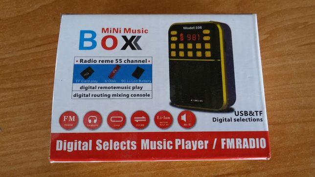 Radio FM turystyczne,Mp3,TF cart,USB,