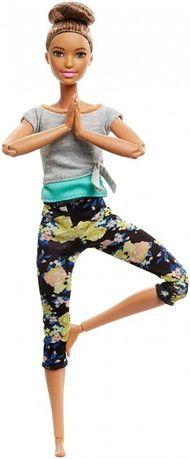 Барби Йога, брюнетка - Barbie Made To Move Doll, Brunette шарнирная Ma
