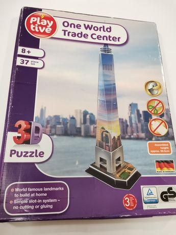 Playtive one world trade centre 3D пазл
