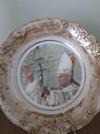 Talerz z Papieżem, Jan Paweł II