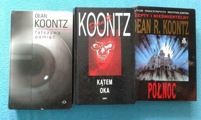 Dean R. Koontz 3 książki zestaw