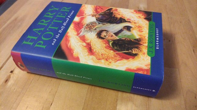 Harry Potter and the Half-blood Prince with Misprint 1st Edition