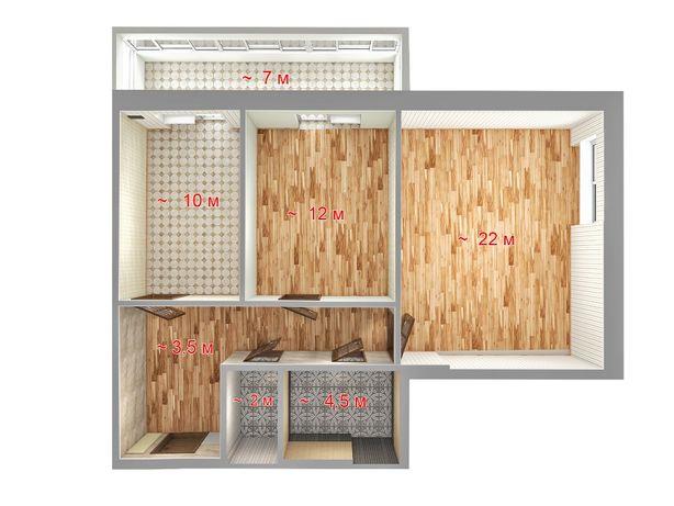 2-х комнатную новую квартиру в районе Плазы на Таврическом