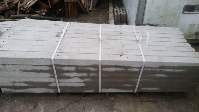 Słupki ogrodzeniowe betonowe do siatki, siatka leśna,siatka ocynkowana