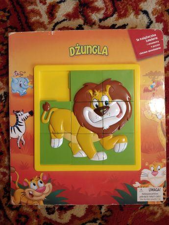 "Książka/Puzzle ""Dżungla"""